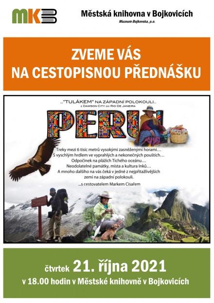 Peru – cest. přednáška