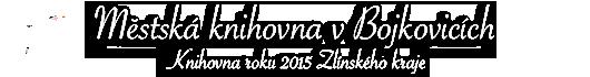 Městská knihovna v Bojkovicích